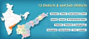 Divisions and district's  of Andhra Pradesh