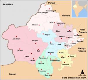 Modern history ofRajasthan after Independence